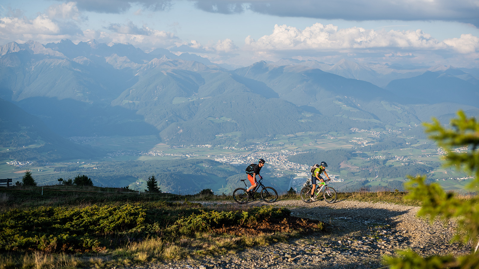Gite in mountain bike sul Plan de Corones